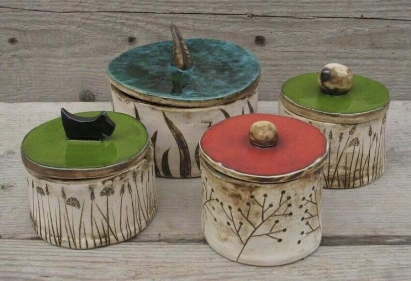 Cute 'Liddle' Lidded Pot- Sunday 27th June 10-12pm