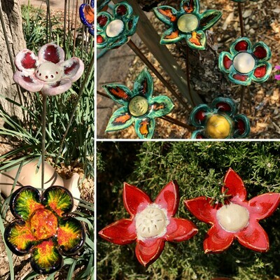 Everlasting Flower Pottery Workshop. Sunday 16th May & 6th June 10-12pm
