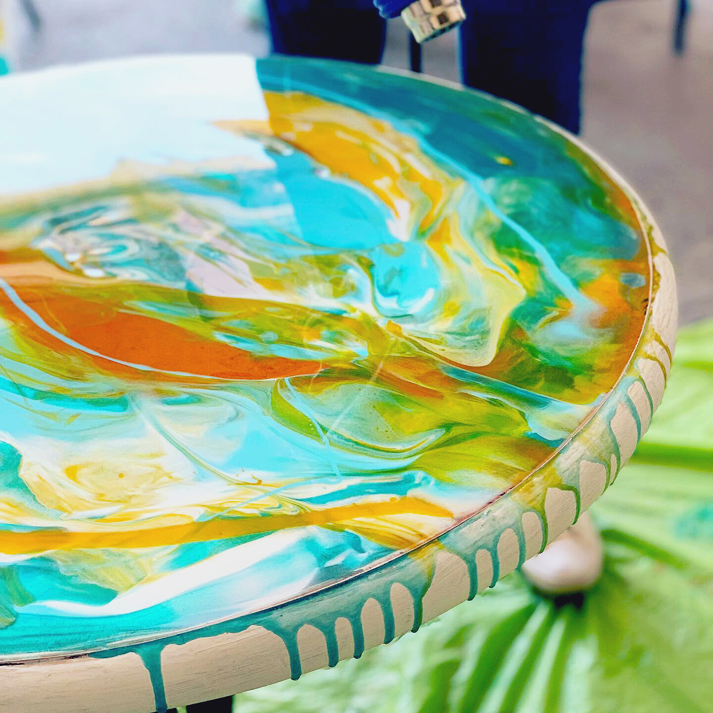 Resin Upcycle Your Furniture Workshop - Saturday 8th May 2-5pm