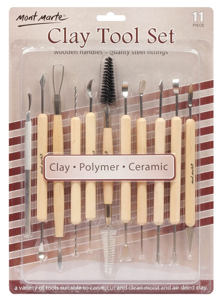 Mont Marte Clay Tool Set