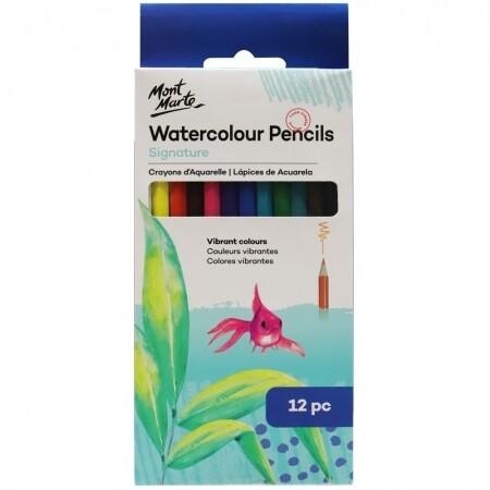 MM Watercolour Pencils 12pc