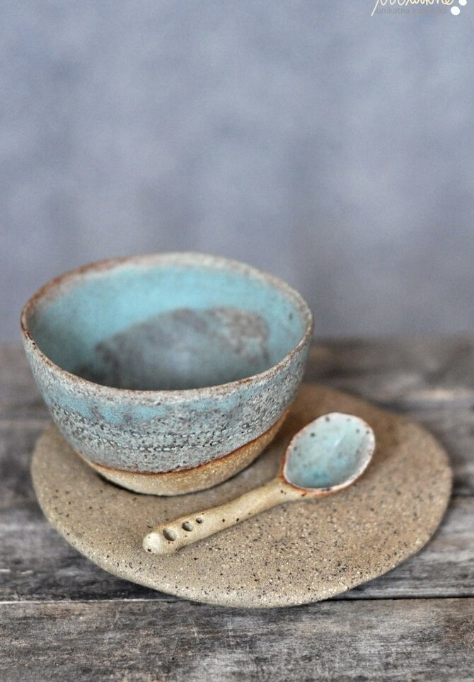 Clay Cup, Saucer & Spoon - Friday 11th June 6-8pm