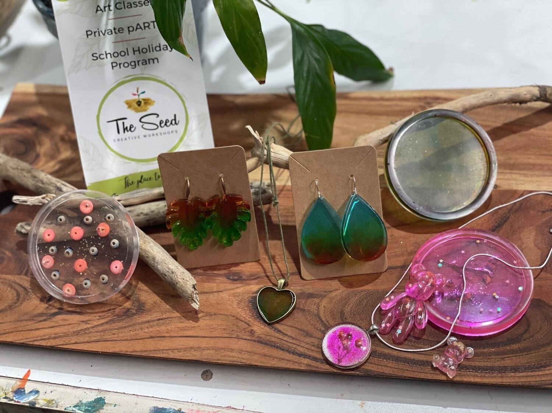 Resin Jewellery Workshop - 10th June 7-9pm