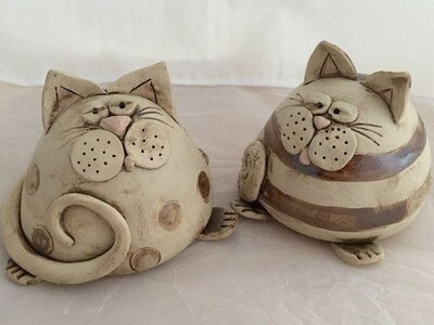 Clay Cat Workshop - 29th August 10-12pm & 11th September 12:30-1pm