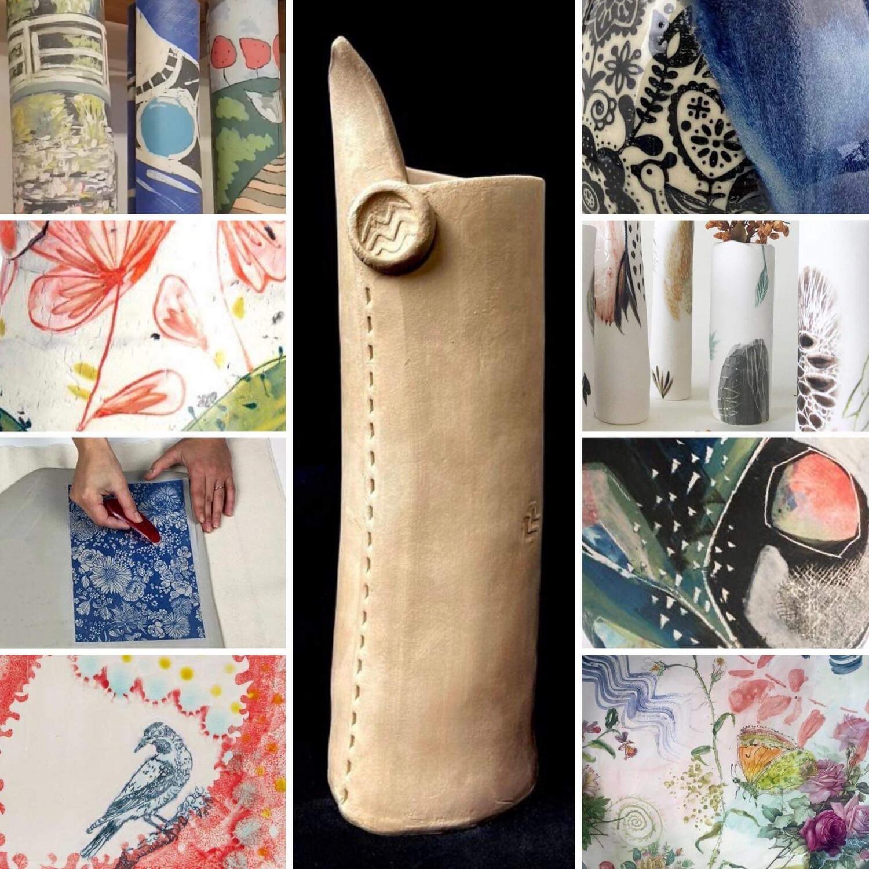 Decorative Clay Vase Workshop - Saturday 16th October 2-4pm & 6th November 2-4pm
