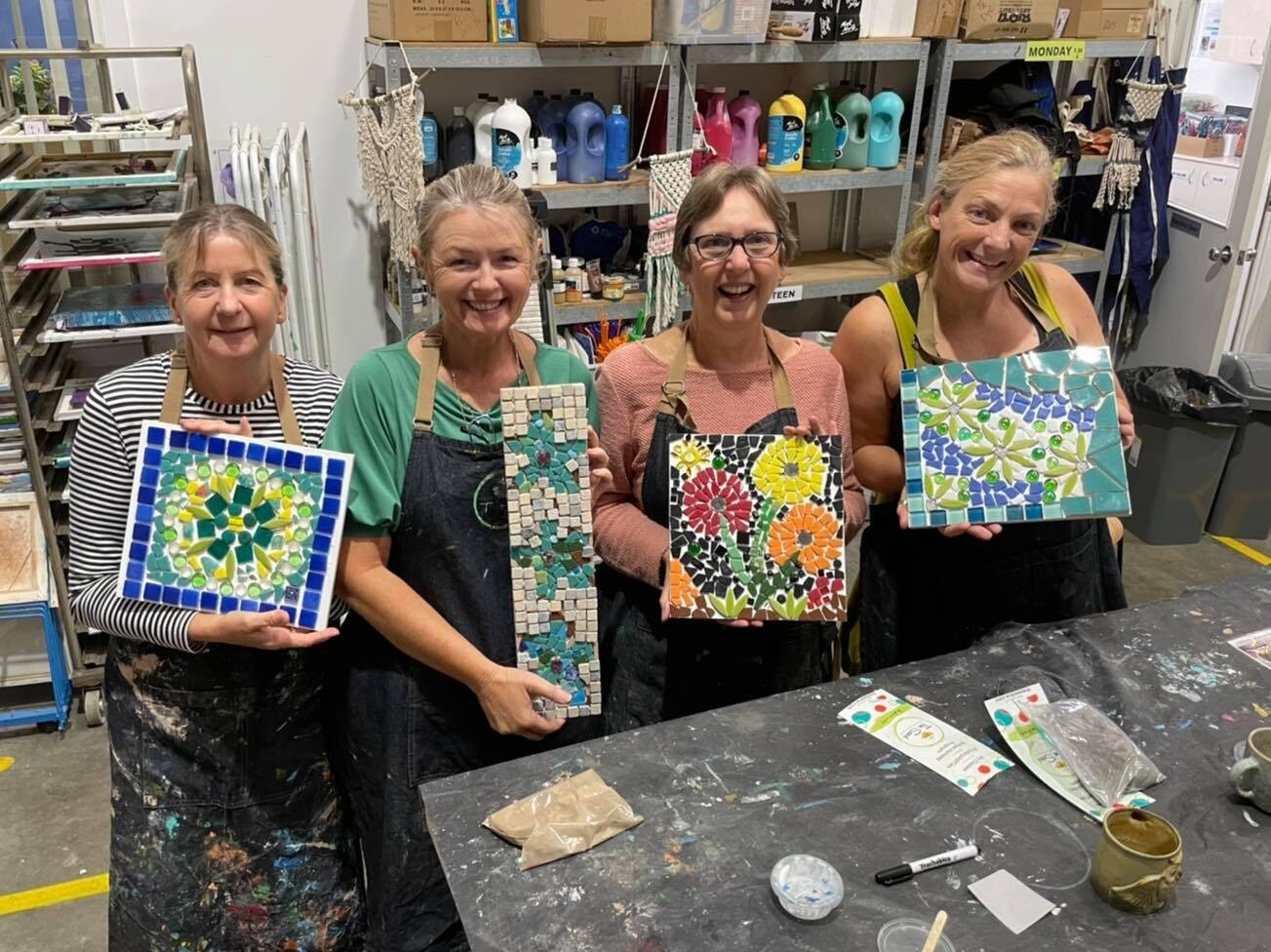 Mosaic Workshop - Tuesday 26th October, 6:30-9pm