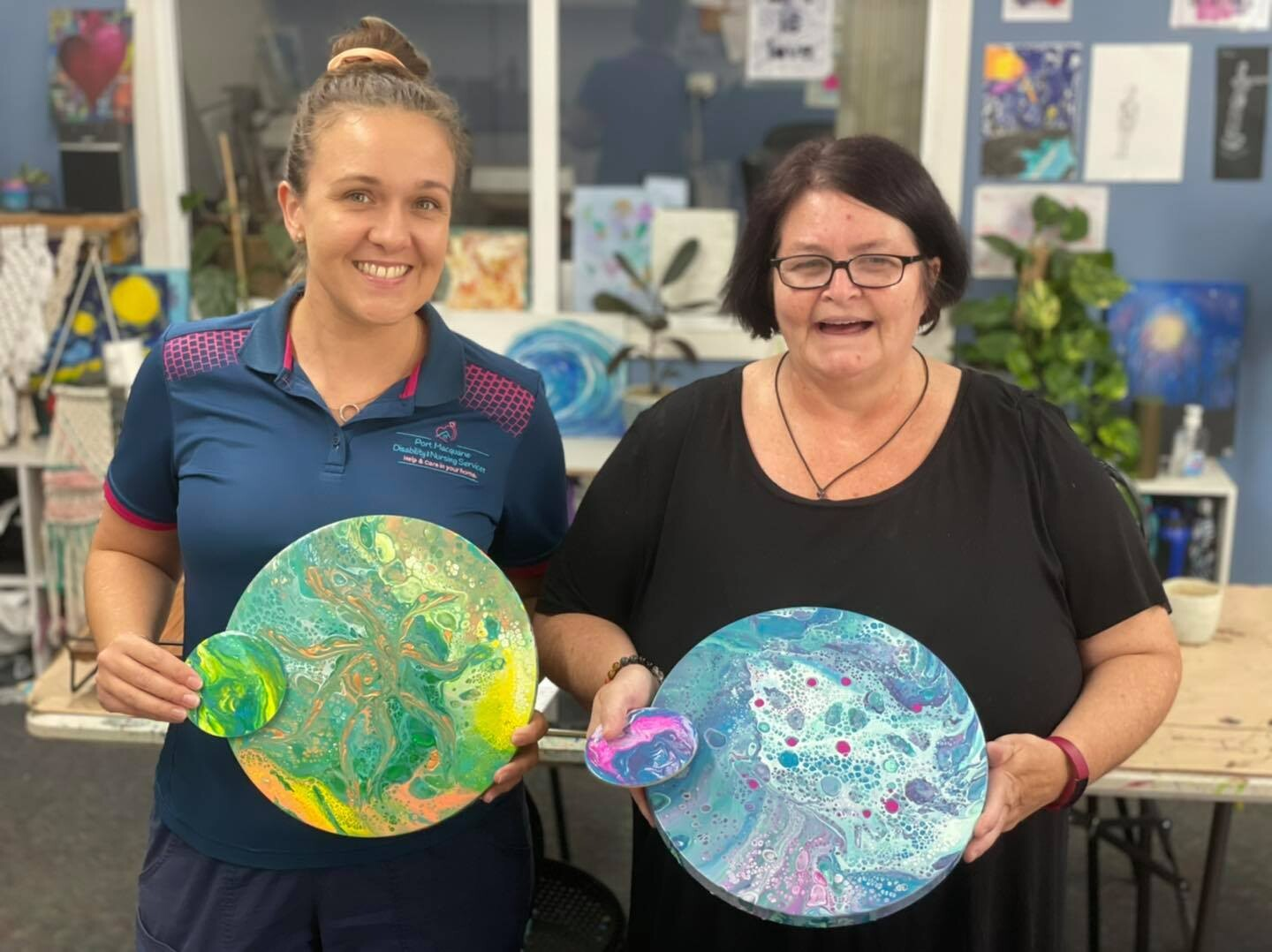 Family Acrylic Pour - Saturday 3rd July 2-4pm