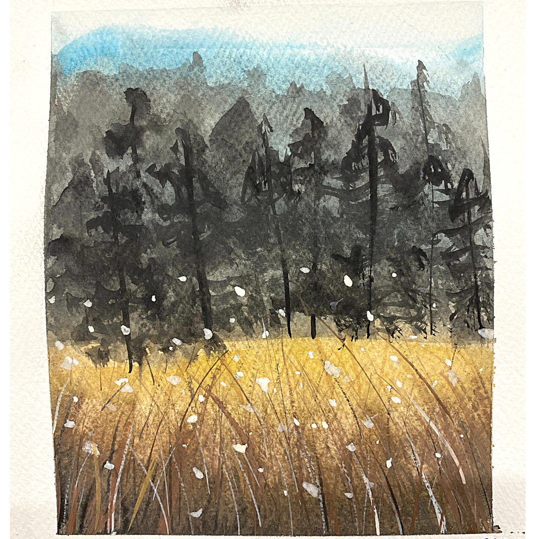 Beginners Landscape Watercolour Workshop -Saturday 31st July, 6-8pm