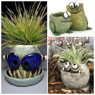 Kids Monster Pots Workshop - Sunday 5th September 10-12pm