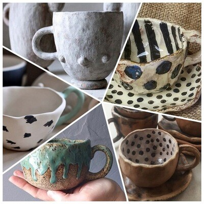 Lovely Clay Cup Workshop - Sunday 15th August 10-12pm & Saturday 28th August 12:30-1pm