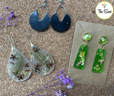 Resin Jewellery Workshop - Tuesday 24th & 31st August 6:30-8pm