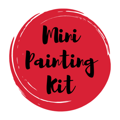 MINI Painting Art Supply Kit & Instructional Lessons!