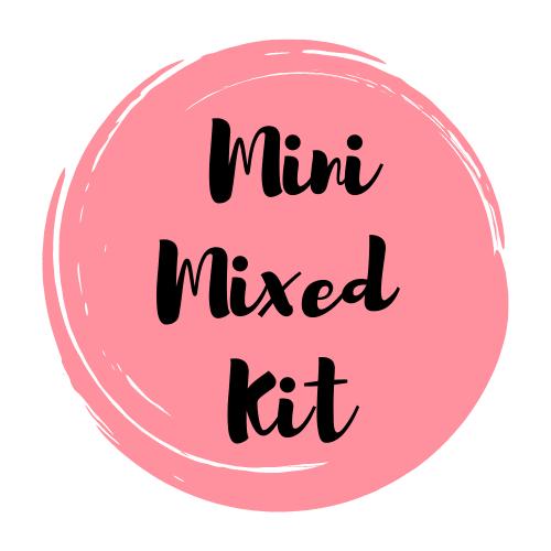 MINI Mixed Media Art Supply Kit & Instructional Lessons!