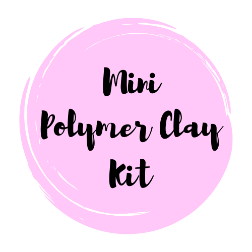MINI Polymer Clay Art Supply Kit & Instructional Lessons!