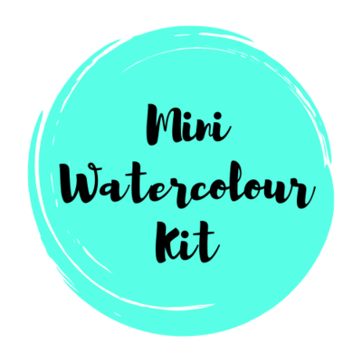 MINI Watercolour Art Supply Kit & Instructional Lessons!