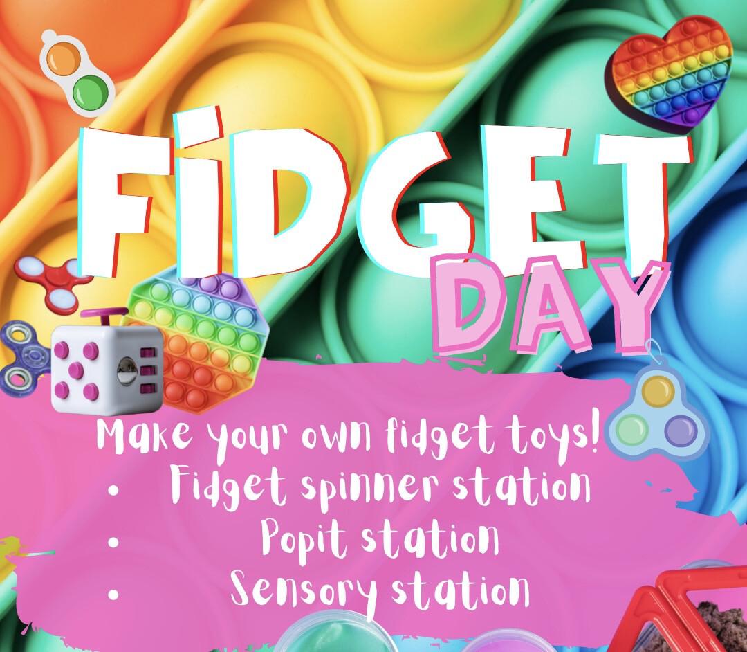 FIDGET DAY 2.0- Spring School Holidays Creative Kids - Single Day