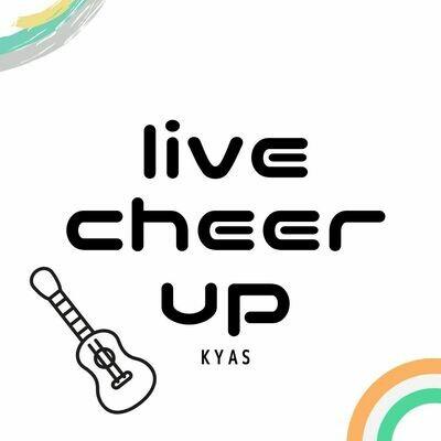 ①live cheer up1(特典楽曲SUNNYSHA)