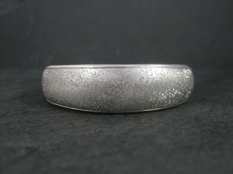 Vintage Sterling Delfina Cuff Bracelet Charles Garnier 6.5 Inches