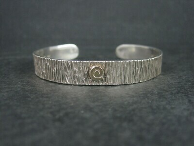 Native American Migration Cuff Bracelet Myron Panteah 6.5 Inches