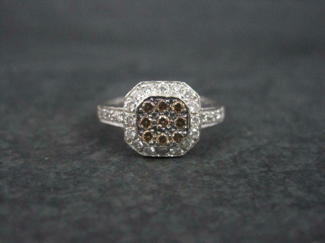 LeVian 14K Diamond Ring Size 7