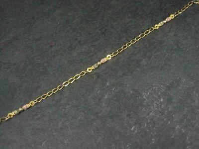 Vintage Black Hills Gold Bracelet 7.25 Inches Landstroms