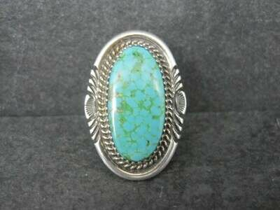 Native American Turquoise Ring Size 9