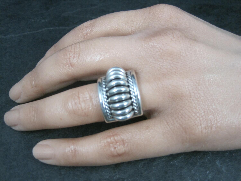 Navajo Thomas Charley Melon Ring Size 6