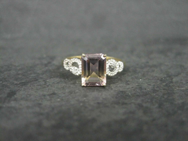 Estate 10K Ametrine Ring Size 7