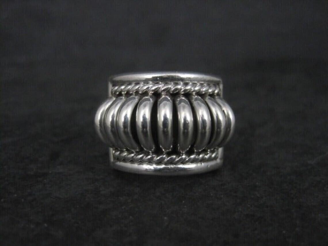 Southwestern Sterling Thomas Charley Ring Size 6