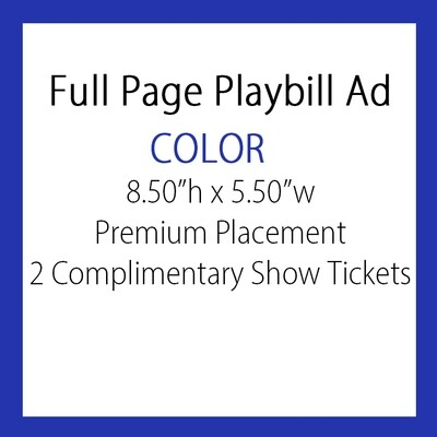 OPTION #4: Full pg. Ad COLOR
