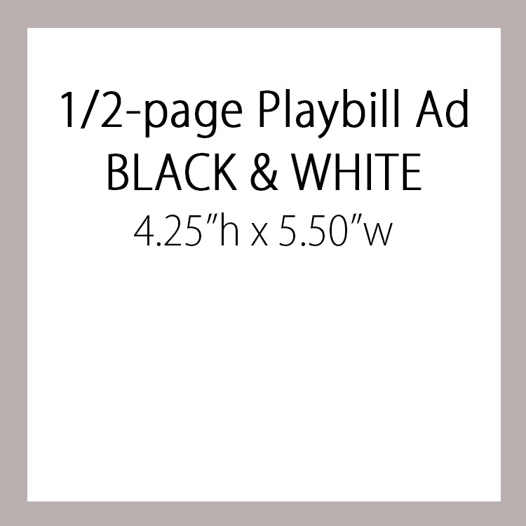 OPTION #2: Half Page Ad