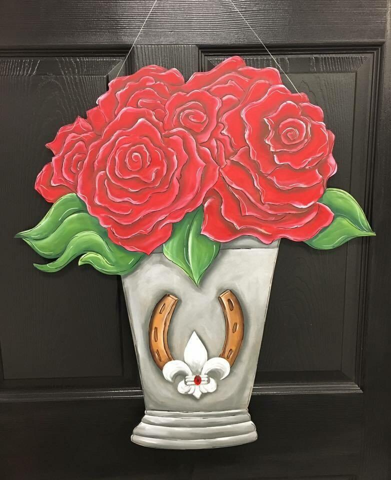 Derby Bouquet in Mint Julip Glass