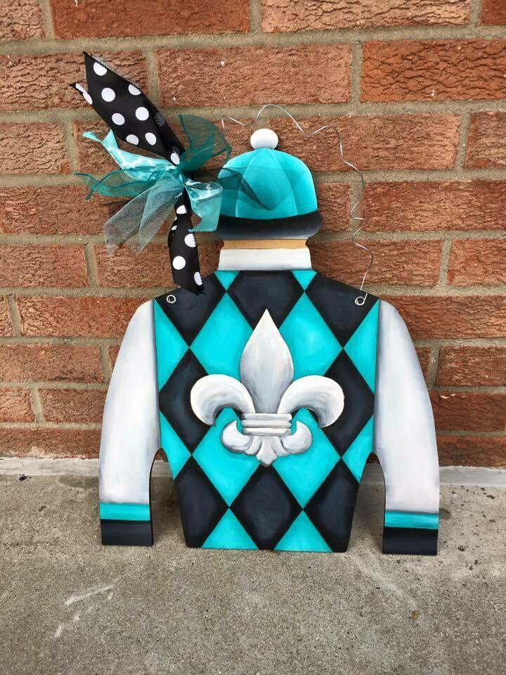 "Jockey Silk ""Bold Ice"" Design"