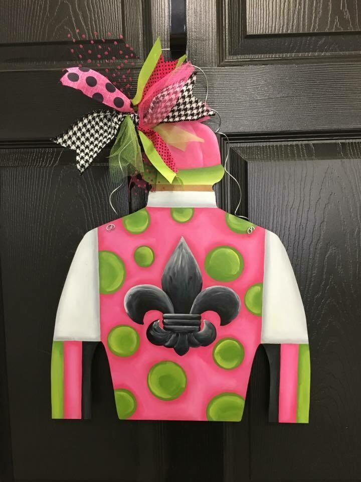 "Jockey Silk ""Melon Madness"" Design"