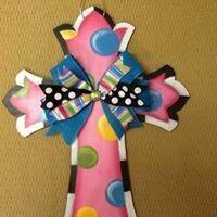 Polka Dotted Cross