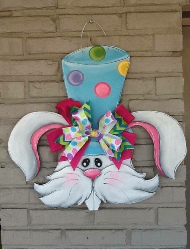 Fleur De Lis Easter Bunny
