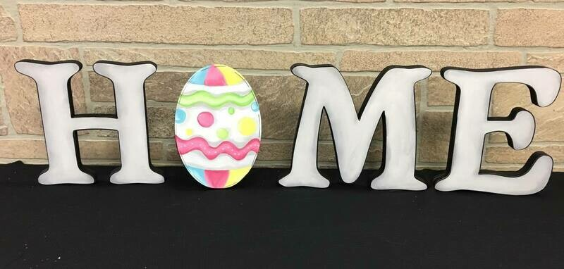 Easter Egg Home Shelf Sitter Insert