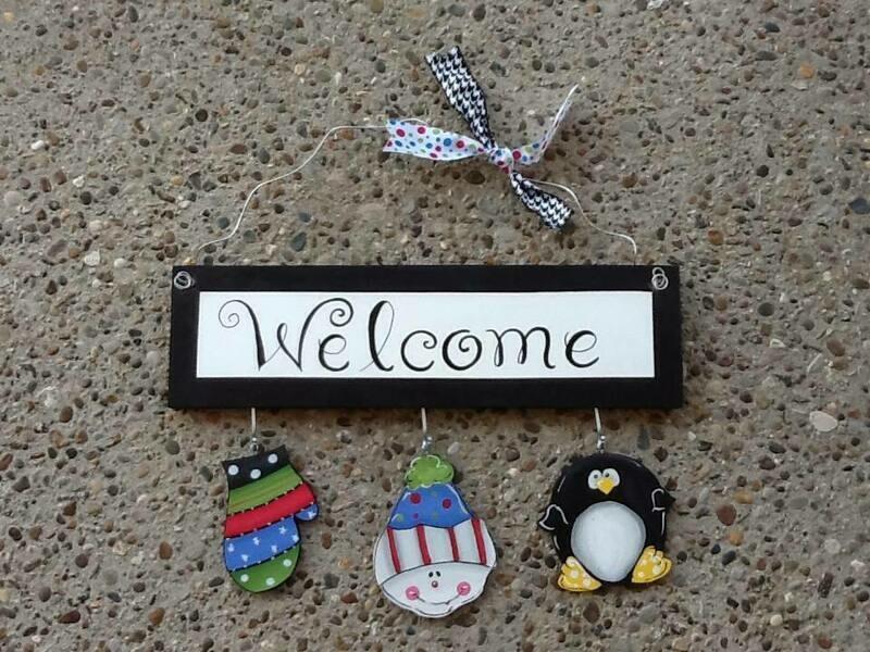 Welcome Board Winter Package