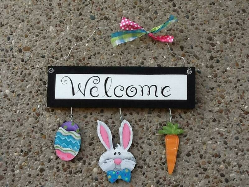 Welcome Board Easter Set Only
