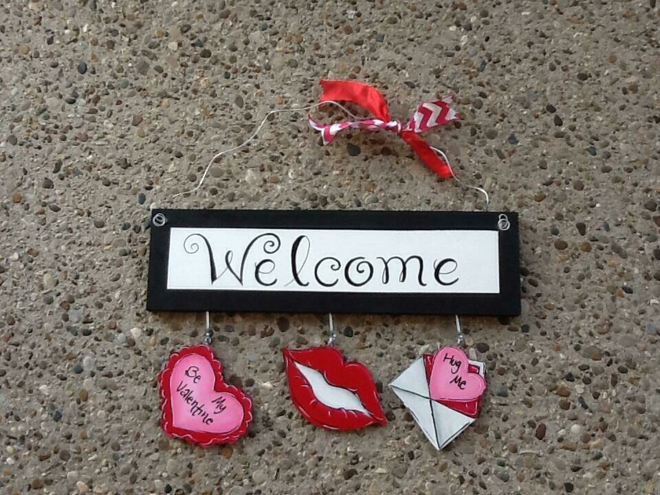 Welcome Board Valentine's Day Package