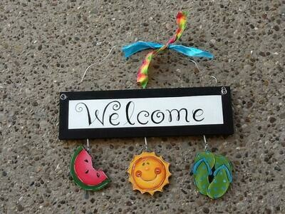 Welcome Board Summer Package