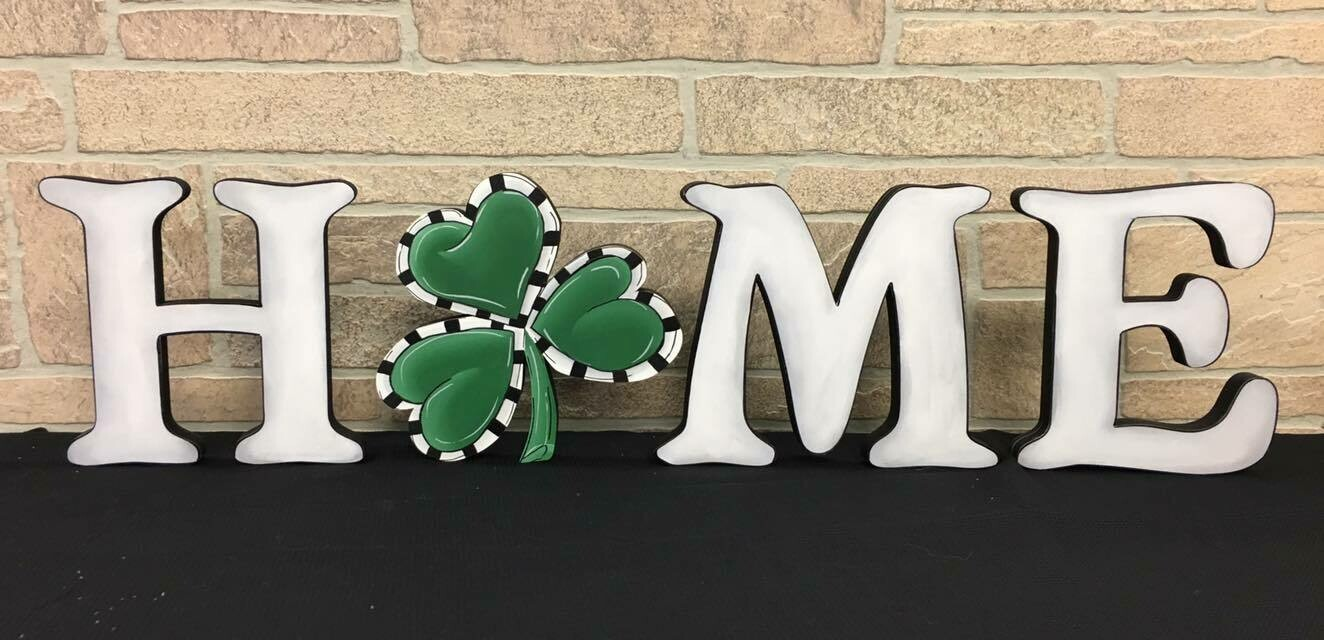 St. Patrick's Day Home Insert Only