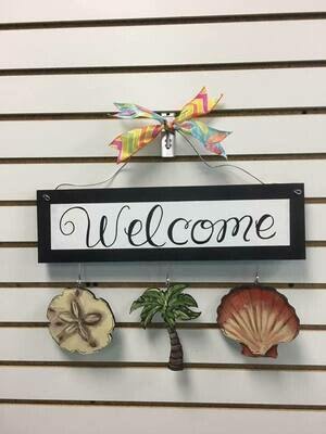 Welcome Board Summer Set Only