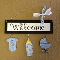 Welcome Board Baby Package