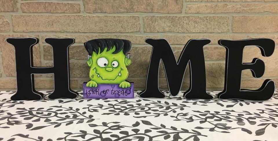 Frankenstein HOME shelf sitter set