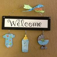 Welcome Board Baby Set Only