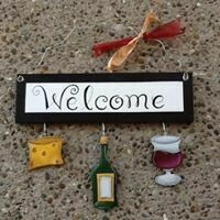 Welcome Board Wine & Cheese Set Only