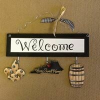 Welcome Board Kentucky Set Only