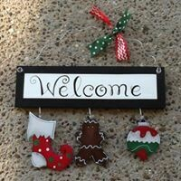 Welcome Board Winter Set Only