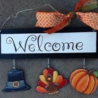 Welcome Board Thanksgiving Set Only